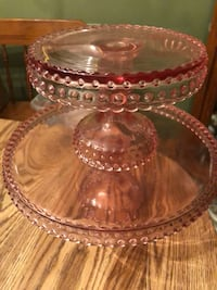 Tiered Pink Cake Dessert Stand Broomall, 19008