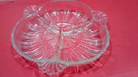 Vintage three section glass dish Mississauga