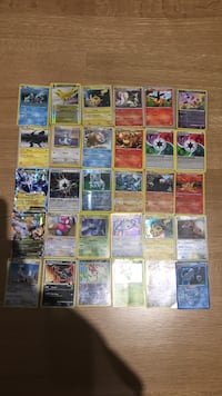 Assorted pokemon trading card collection Toronto, M6R 1H2