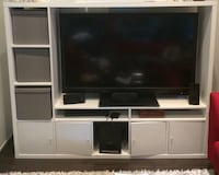 White tv cabinet for sale IKEA negotiable  Toronto, M5A 2A3