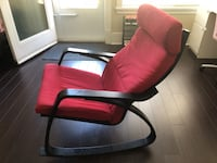 red and black padded armchair 温哥华, V6N 2T1