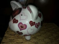 Glass piggy bank!open to offers Kelowna, V1Y 6X7