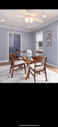Mid century table and chairs - used for home staging District Heights, 20747
