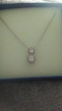 silver-colored pendant necklace Halifax, B3N 2P8