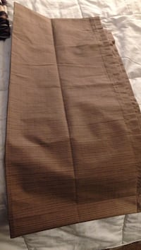 "63"" Tan Textured Curtain Norton, 02766"
