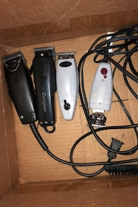 Andis wahl and oster barber clippers