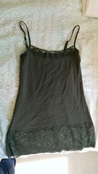 Olive Lacey Tank Warrenton