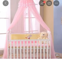 Red and canopy for baby crib Homewood, 35209