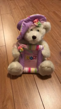 Teddy with picture frame Brossard, J4Z 0K4