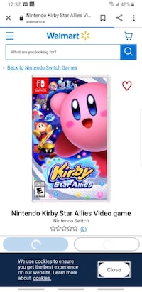 Kirby for switch  Ingersoll, N5C 4H3