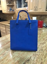 Danier Leather Blue  2-way bag