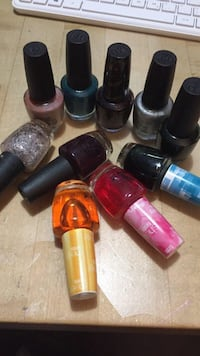 10 bottles of OPI Nail Polish  Markham, L3T 5A1