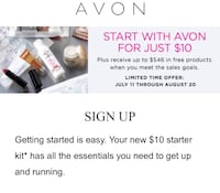 Start your Avon business for $10 Round Rock, 78664