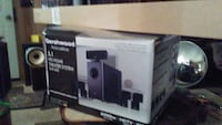 Gershwood. Home surround sound system with cinema