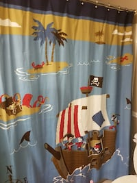 Pirate curtain  Fort Mill