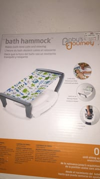 Baby's Journey Bath Hammock box