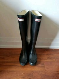 Hunter Wedge Boots  548 km