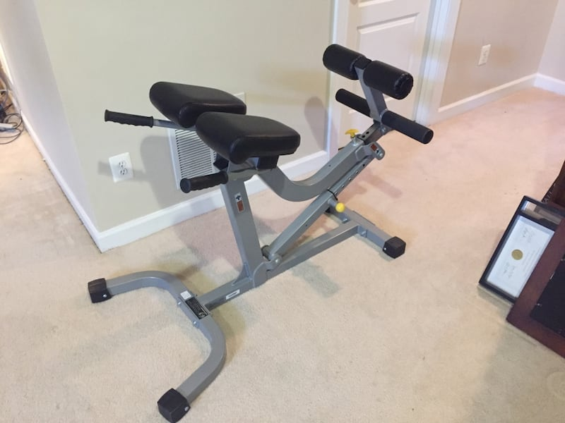 Hyper extension Back and abdominal exercise bench 05994dc0-1f7f-4525-b037-5eef2853a46e