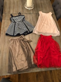 Girl dresses size 3-4 Laval, H7W 3R7