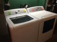 Kenmore washer and gas dryer set 462 mi