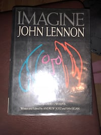 Hard cover book - Imagine John Lennon