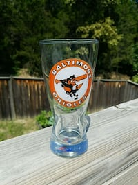 Baltimore Orioles pint glass Strasburg, 22657