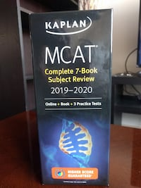 MCAT Complete 7-Book Subject Review 2019-2020: Online + Book + 3 Practice Tests (Kaplan Test Prep)