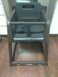 baby's black and brown high chair Laurens, 29360