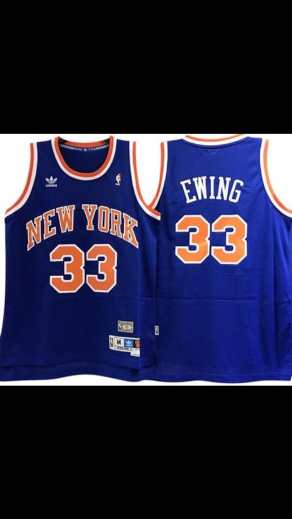 Used Pat Ewing Knicks Jersey for sale in Fort Lee - letgo c0b3cc09f