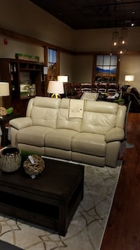 New Brown Leather 3-seat electronic recliner sofa Boston, 02135