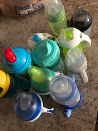 Kids baby toddler Sippy cups bottles