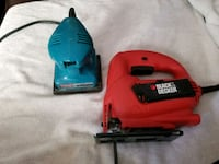 Black&decker jigsaw and makita sander Longmont, 80503