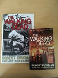 The Walking Dead Rise of the Governor Signed Book 2229 mi