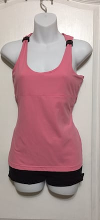Pink Workout Top: Size Large