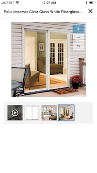 NEW Pella Impervia Sliding Glass Door (Brand New in Box) $2035 Retail Chadds Ford, 19317