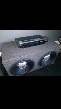 JBL 12inch subs with amp