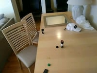 Table and 3 chairs New Westminster, V3M 4B9