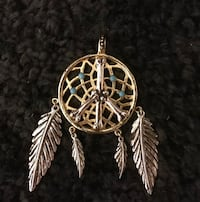 Han Cholo Vermeil (14k gold) Dream Catcher Pendant 39 km