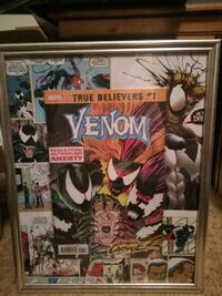 Venom Seperation Anxiety comic book picture