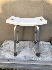 gray and white wooden side table Fullerton, 92831