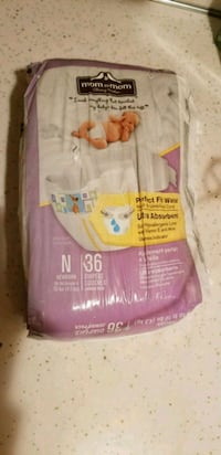 Mom to Mom New Born Diapers - 36 Ct. - Perfect For 43 mi