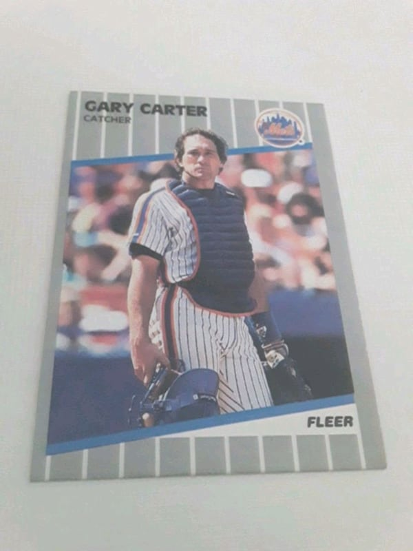 1989 FLEER GARY CARTER # 30 CARD 36d691d8-90c8-43de-9d62-12e1da5d16cd