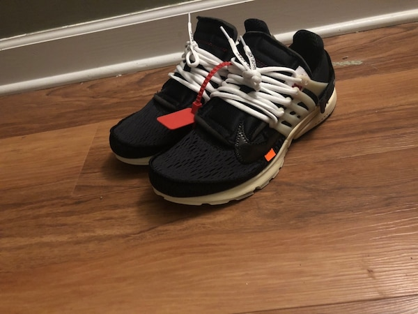 Off white presto (Virgil abloh ) size 11 9/10 conditions