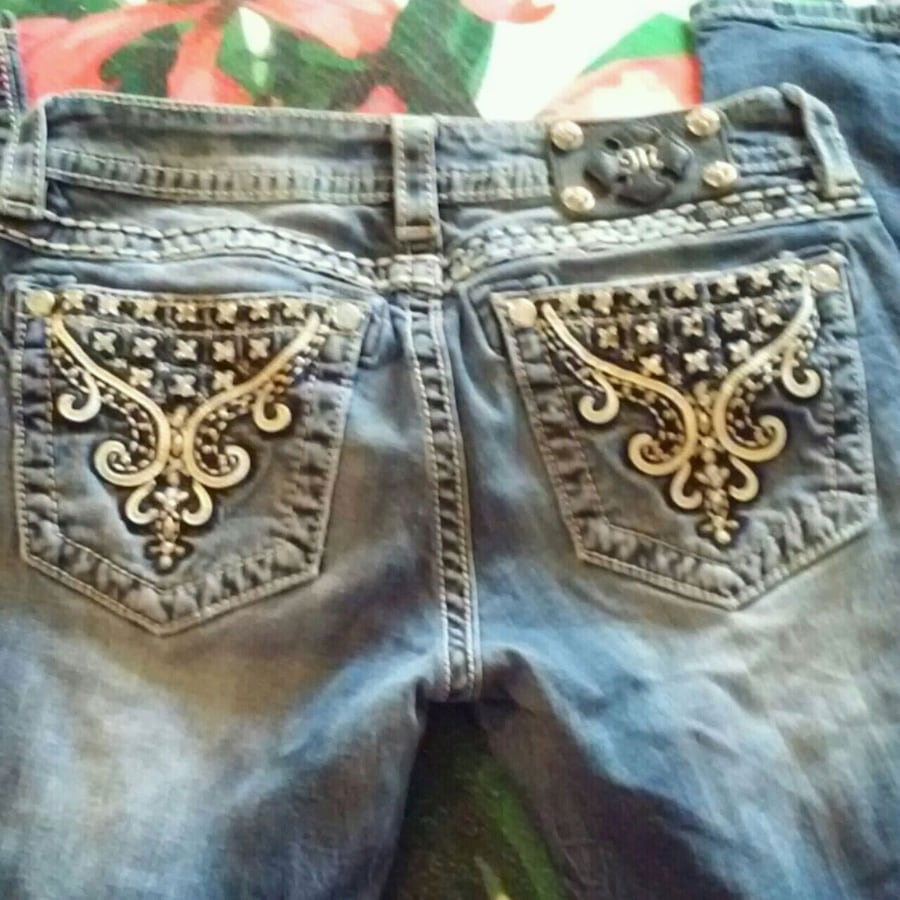 MISS ME BLUE JEANS FLARE SIZE 27
