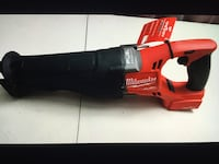 Milwaukee NEW SAW ZAll : M18- FUEL-ONE KEY- BRUSHLESS Herramienta Nueva Tool Onlyj Los Angeles, 91324