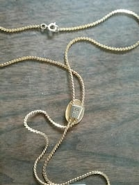 gold chain necklace Long Bottom, 45743