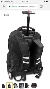 Jworld rolling  backpack/ brand new Citrus Heights, 95610