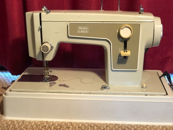Used Vintage Sears Kenmore Heavy Duty Sewing Machine Model 40 With Mesmerizing Sears Kenmore Sewing Machine 5186