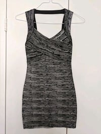 Sexy Bandage dress in Silver and Black - size XS - S  Toronto, M5A
