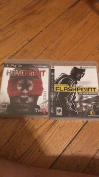 two Sony PS3 game cases New York, 10460